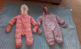 Toddlers Snowsuits size 12-18 months, excellent condition(non smoking house)