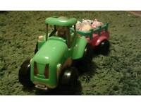 Toddler toy tractor
