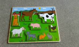 Wooden puzzle NEW