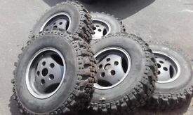 235 85 16 land rover wheels and tyres
