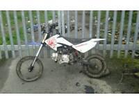 110 cc pitbike no wheels