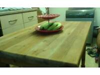 Top Quality , Old School Thick (40m) Cut Pine Table... £110.00..Free local delivery. ..