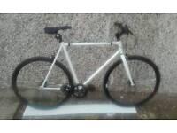 Brand new feral single speed fixey bike