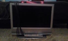 Sony bravia TV with remote 20 inch screen hdmi