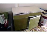 Original retro kitchen units