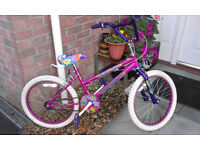 Girls Universal Sugarbabe BMX Style Bike Bicycle