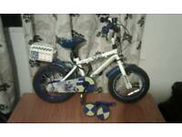 "14""kids police bike 4 to 6 years"