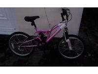 "Girls bicycle 16"" wheels"