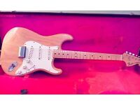 1974 fender Stratocaster USA with a 1967 vintage Stratocaster case