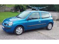 2002 Renault Clio 1.2 automatic