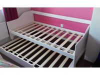 Children double bed trundle(frame only)