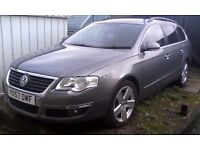 Vw Passat TDI 170 estate 12mths mot 6 speed gearbox climate control cruise control tow hitch