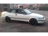 for sale 1999 saab 93 2.0 turbo in rare white