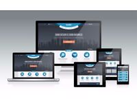 £50! UK Web Design/Development & Hosting for websites.
