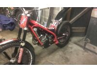 Gas gas 250 trials bike