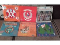 5 Flute/accordion band Lps, 1 RFC Lp