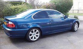 Beuatiful Rare BMW 330CI Manual