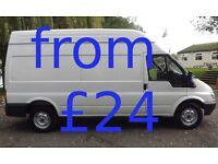 £28/hr STRONG MAN & 10 CUBIC METRE LOADSPACE VAN