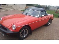 1977 MGB ROADSTER, 1 YEARS MOT, HISTORIC VEHICLE FREE TAX, EXCELLENT CONDITION