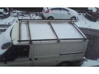 Ford transit swb roofrack with pipe for sale lost tools so buyer needs spanners can deliver