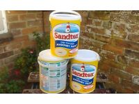Sandtex masonry paint.