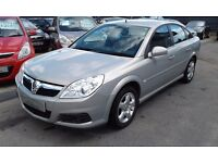 2008/08 VAUXHALL VECTRA 1.8 i VVT EXCLUSIVE 5 DOOR,SILVER,GOOD CONDITION,LOOKS AND DRIVES WELL