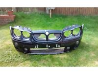 Black MG ZT Front Bumper From 2003 Model