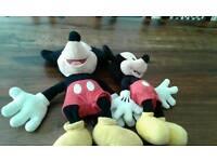Mickey mouse teddy bears