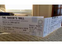 2 x Natalie Imbruglia tickets