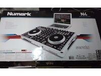 Numark N4 Digital DJ Controller & Mixer Deck USB Audio Interface W/ Serato
