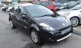 2009/59 RENAULT CLIO 1.2 16V DYNAMIQUE 5 DOOR BLACK,GREAT SPEC AND ECONOMY,LOOKS AND DRIVES WELL