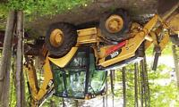 backhoe Caterpillar 420 E