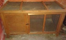 Rabbit/small animal hutch