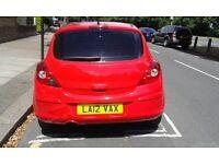 2012 Vauxhall Corsa 1.0 Cat D Damage
