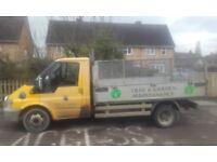 Transit tipper lorry