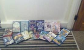 For sale kids and adults DVD's