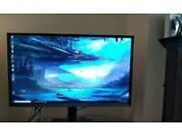 Samsung 32 inch monitor QHD 2560 x 1440p Portrait/Landscape 2.5k