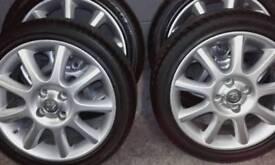 Corsa C Exclusive Alloys Tyres x 4