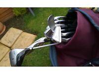 Golf club set - John Letters make