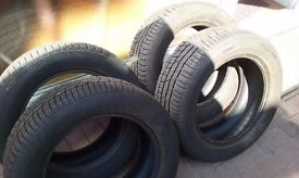 4 Conti Winter Contact tyres TS830P; 215/55 R16, excellent condition