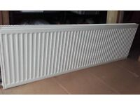 Kudox Radiator L 1600mm H 500mm Double Panel Plus & With Valves