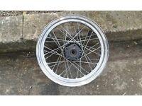 "Harley Davidson 16"" 40 Spoke Rear Wheel"