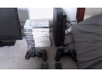 PS2 CONSOLE EXCELLENT CONDITION WITH GAMES £40 ONO