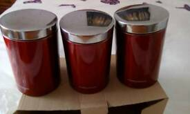 Morphy Richards canisters