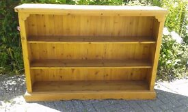 Old Solid Pine Bookcase - DELIVERY AVAILABLE