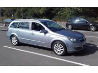 Lpg/petrol Vauxhall Astra Design Estate Automatic 1.8l 05 plate