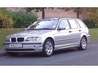 BMW 320D TOURING ESTATE 52 REG 1 FORMER OWNER FULL SERVICE HISTORY FULL HPI CLEAR FULL MOT STUNNING