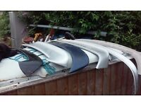 peugeot 206 spoiler vauxhall astra top and bottom boot spoiler and a rear skirt