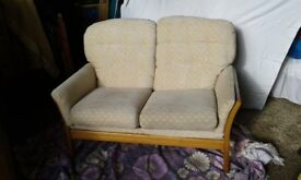 2 seater sofa and arm chair G Plan