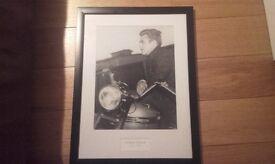 "James Dean Framed Photo Print 23"" x 17 """